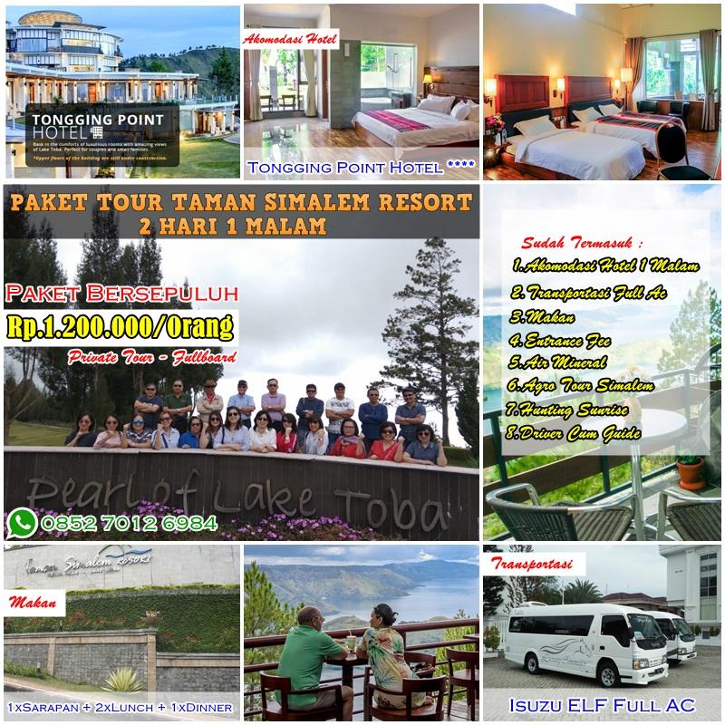 Promo Paket Tour Taman Simalem Resort 2 Hari 1 Malam (Bersepuluh)