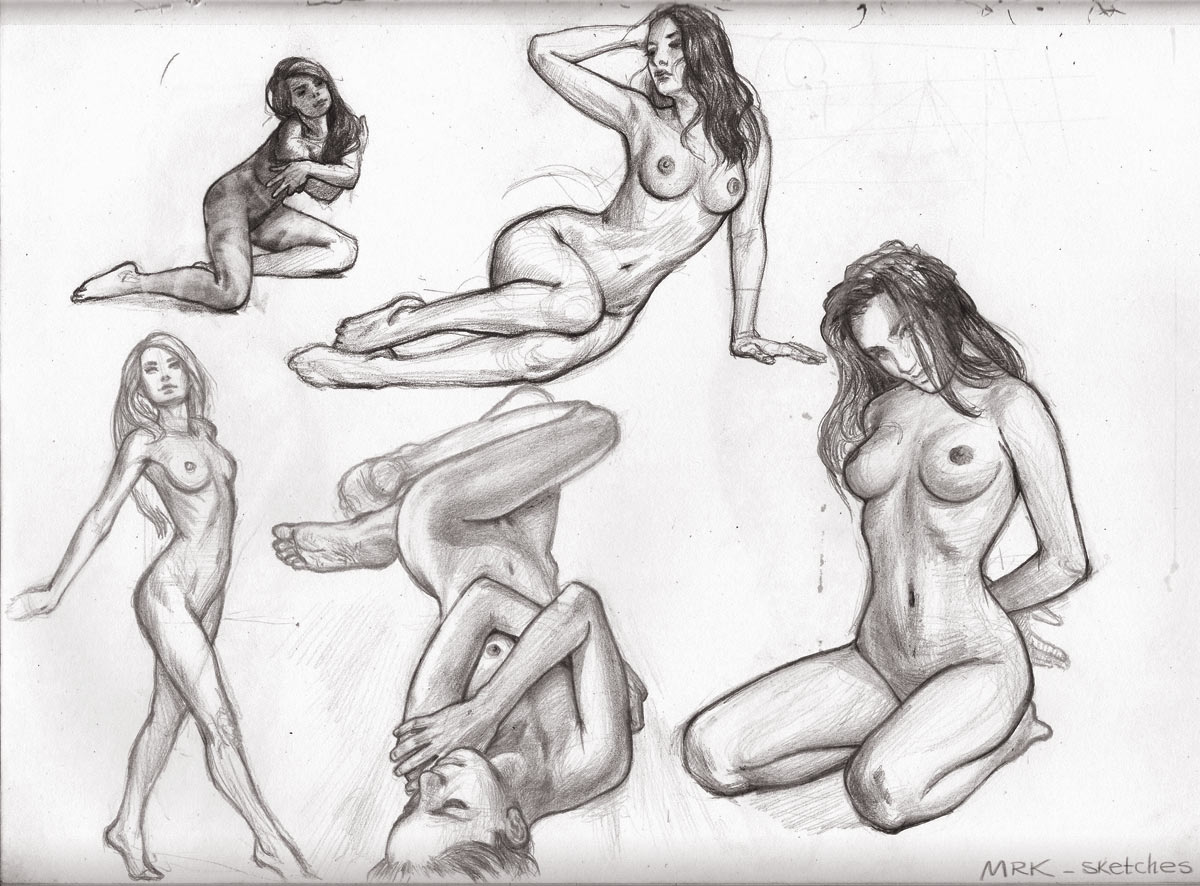 Nude sex sketch wallpaper adult girl