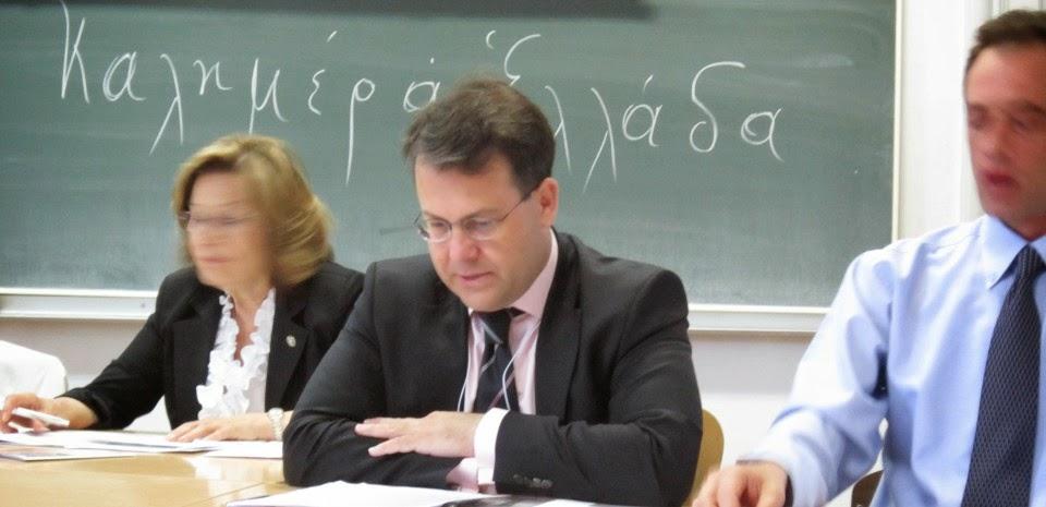 ΙΩΑΝΝΗΣ ΑΝΤ. ΠΑΝΑΓΙΩΤΟΠΟΥΛΟΣ - Γενικός Γραμματέας Μέσων Ενημέρωσης (από Τουρκολέκα Αρκαδίας)