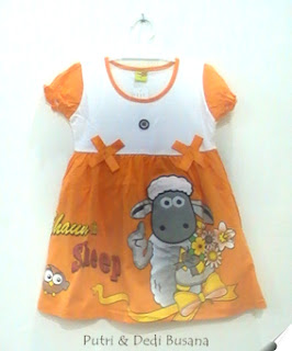dress anak shaun the sheep