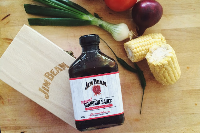 Jim Beams Original Bourbon Sauce review and a recipe for the perfect pulled pork!
