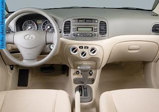 Hyundai accent car 2010 dashboard - صور تابلوه سيارة هيونداى اكسنت 2010