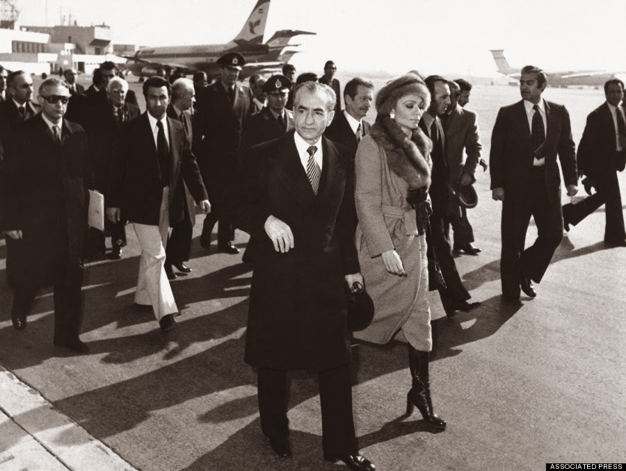 Image result for the shaw of iran leave for egypt