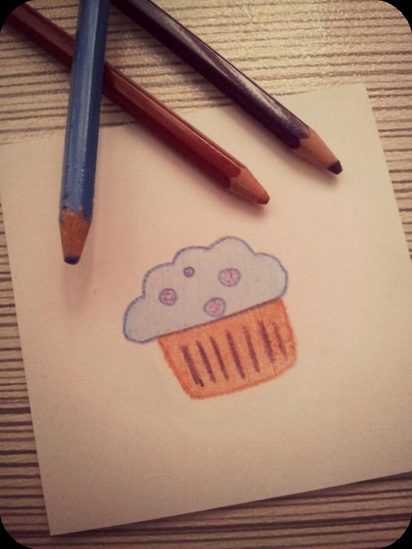 sello cupcake carvado
