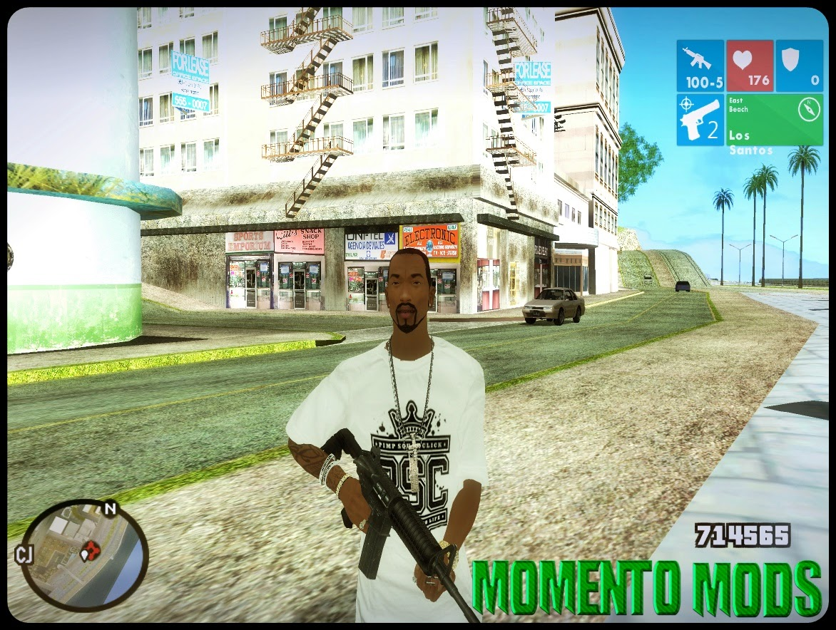 GTA SA - HUD Windows 8