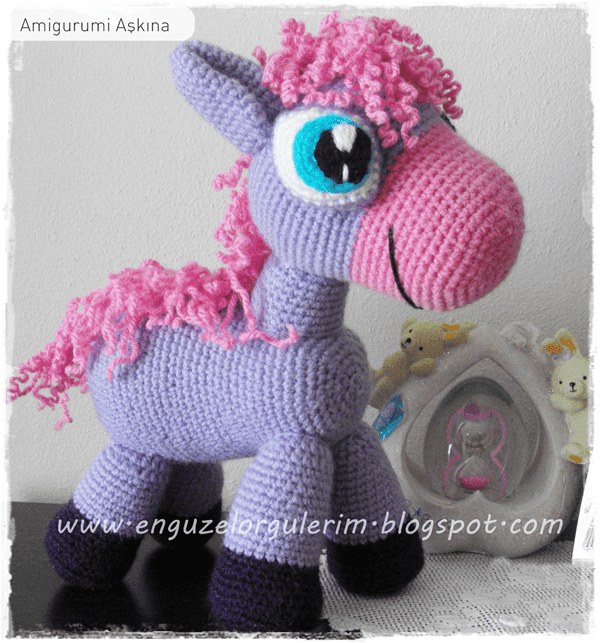 Amigurumi Mini Pony : Tiny Mini Design: Aral?k 2011
