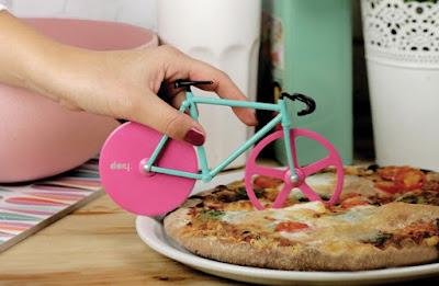otella taglia pizza a fora di bicicletta