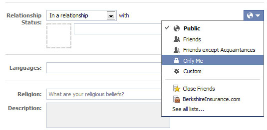 How To Update Your Relationship Status On Facebook Without Letting Friends Know