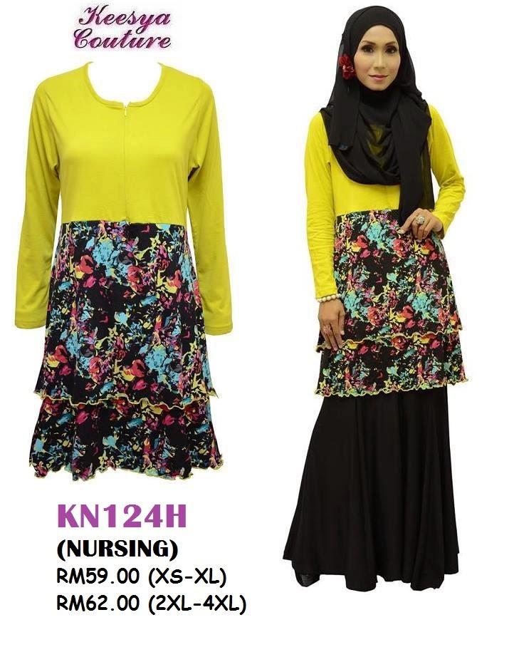 T-shirt-Muslimah-Keesya-KN124H