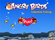 Angry Birds Valentine Fishing