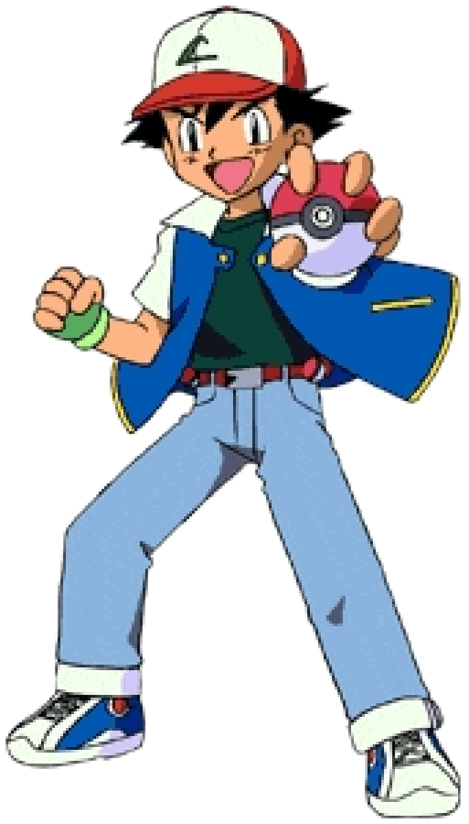 Anime Characters As Pokemon : Cartoon characters pokemon season main