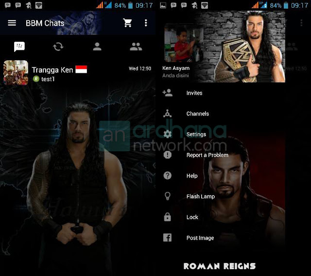 Preview BBM Roman Reigns V2.10.0.35