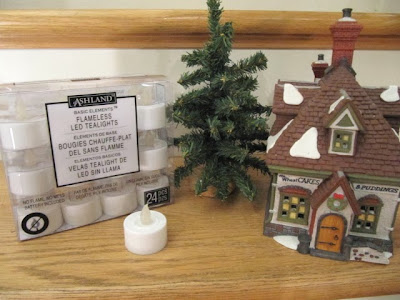 cordless Christmas village