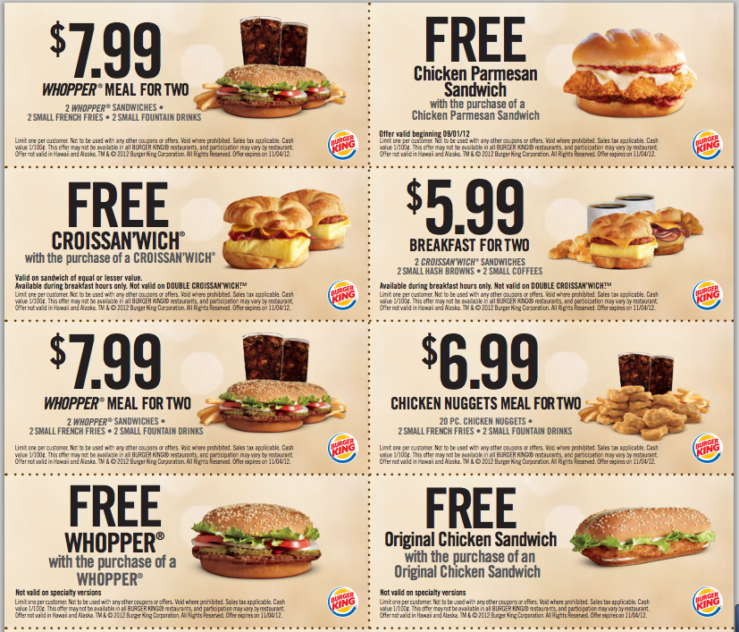 With the change of address form, you will get many coupons to local stores like Lowe's and Home Depot. Although it depends on your local postal office, I have seen fast food restaurant coupons as well. Conclusion. And there you have it! We just showed you 5 places to find fast food coupons.