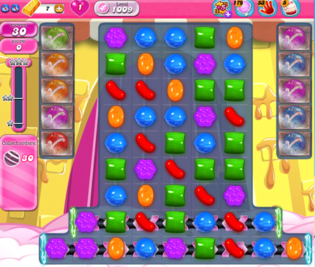 Candy Crush Saga 1009
