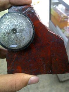 Bongkahan Badar Besi Merah Sumbawa