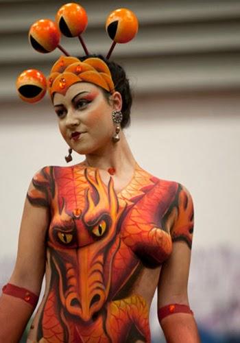 Beauty Amazing Body Paint Art