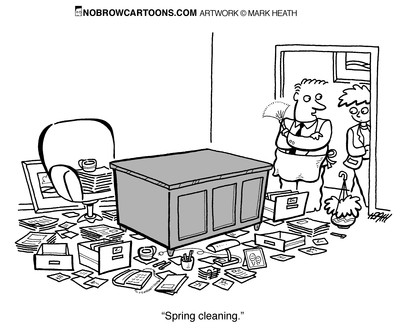 BizBuilding: SPRING CLEANING: ORGANIZE YOUR OFFICE!!!