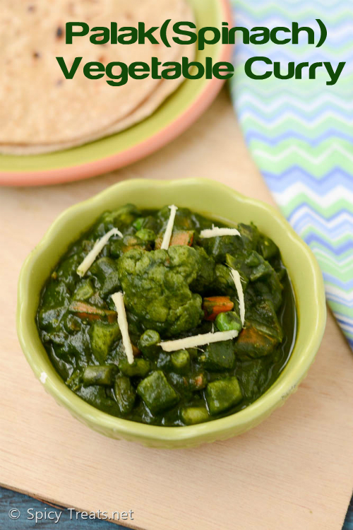Palak Vegetable Curry