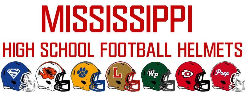 Mississippi High School Football Helmets