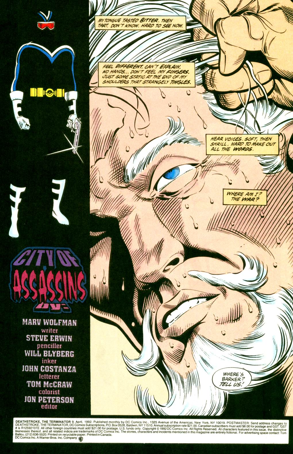 Deathstroke (1991) Issue #9 #14 - English 2