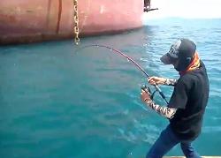 Pertarungan Seru Melawan Monster Laut Spot Kapal Tanker Akhirnya