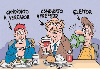 Resultado de imagem para eleição municipal, charges