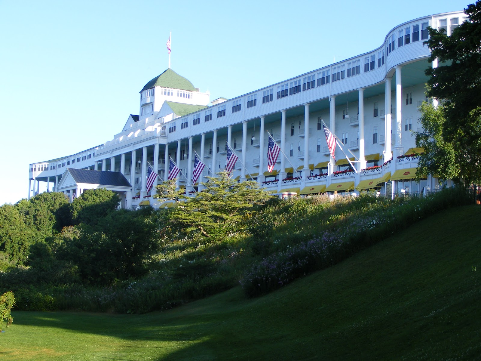 Stone hill farm the grand hotel mackinac island mi for Grand hotel