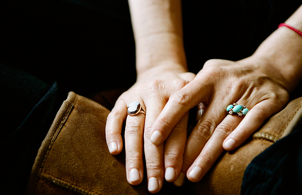 his hers turquoise wedding rings I 39m way into Max Molly 39s turquoise
