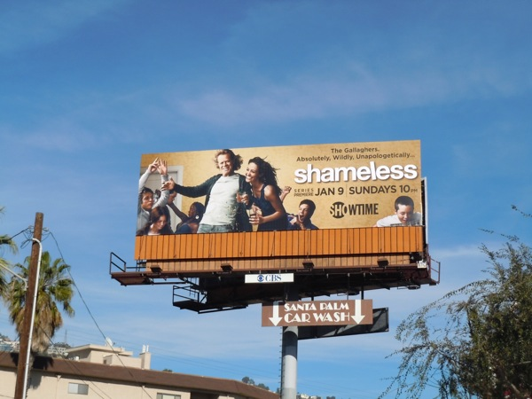 Shameless US season 1 billboard