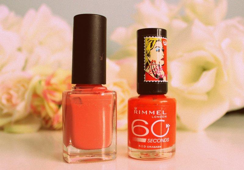 Rimmel Rita Ora Nail polishes