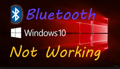 fix bluetooth not working on windows 10