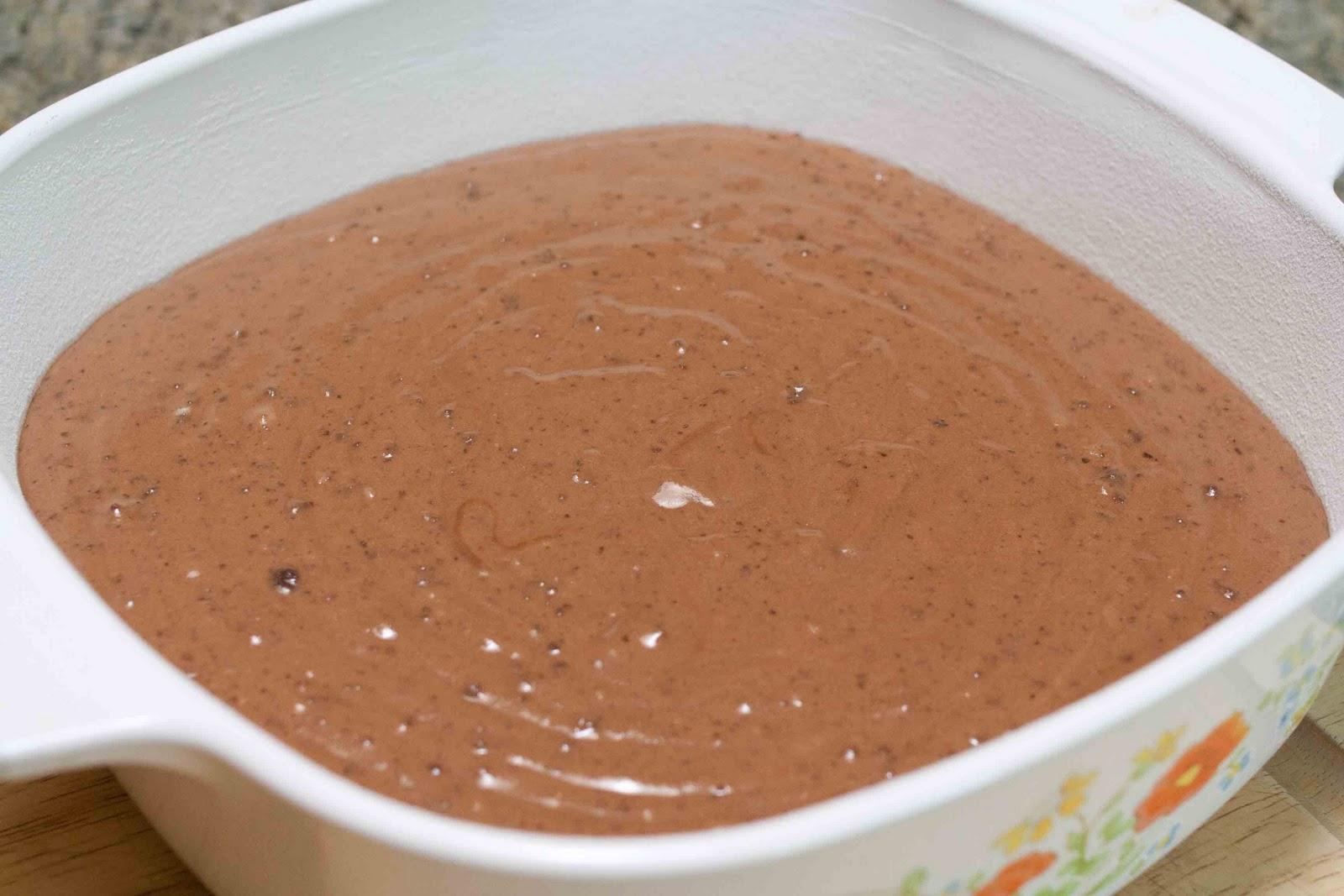 FOODjimoto: Chocolate Mint Mochi Cake