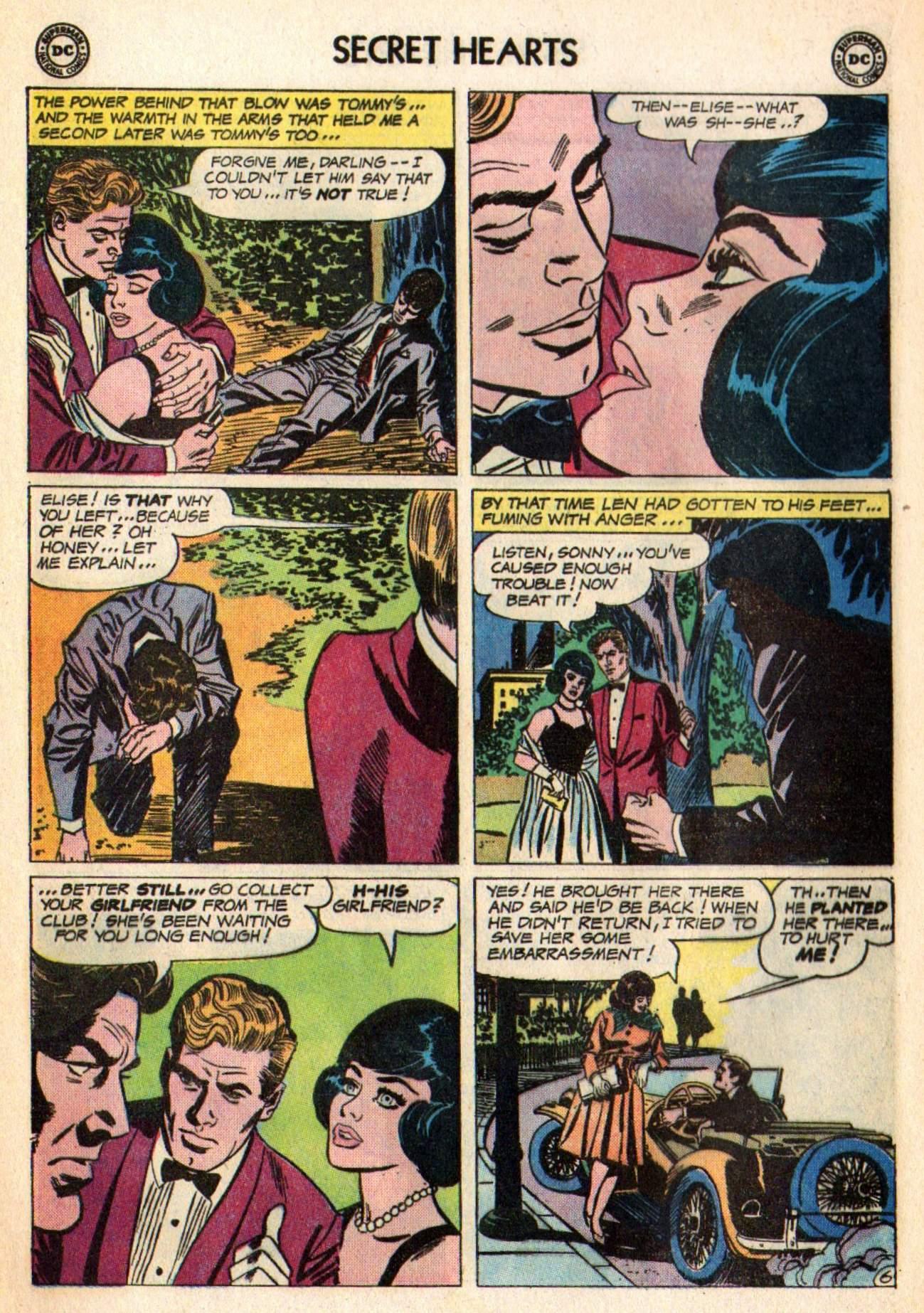Read online Secret Hearts comic -  Issue #98 - 16