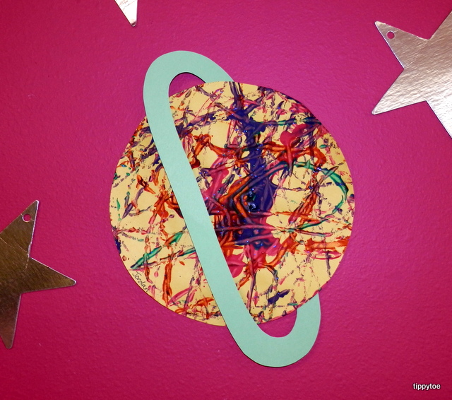 color planet saturn craft project - photo #4