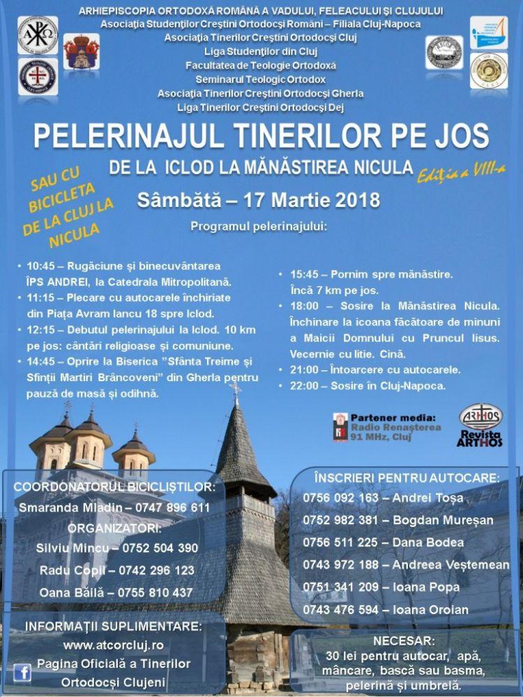 17 martie 2018 Pelerinaj Iclod-Nicula pedestru