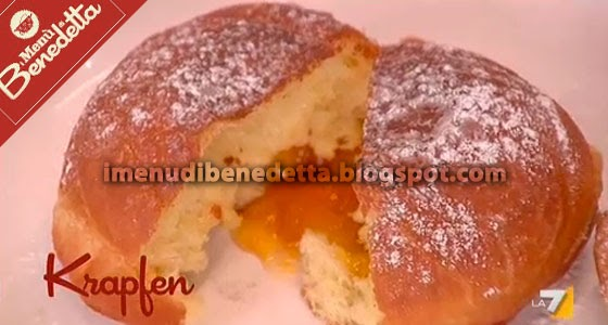 Krapfen la ricetta di benedetta parodi for Le ricette di benedetta parodi