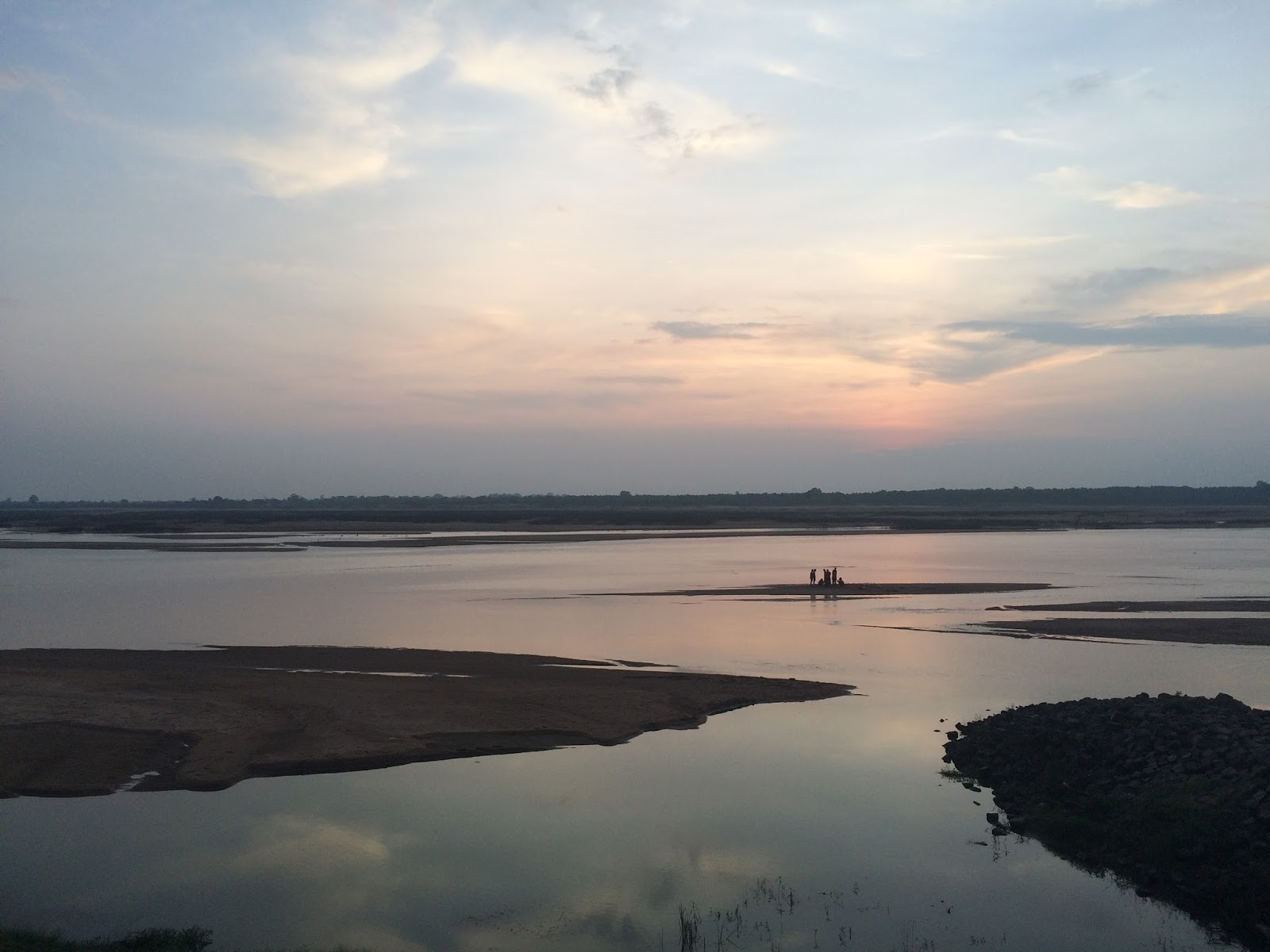 food for thought 2015 a thought provoking sunset and a memorable experience at the mighty mahanadi chhattisgarh a photo essay