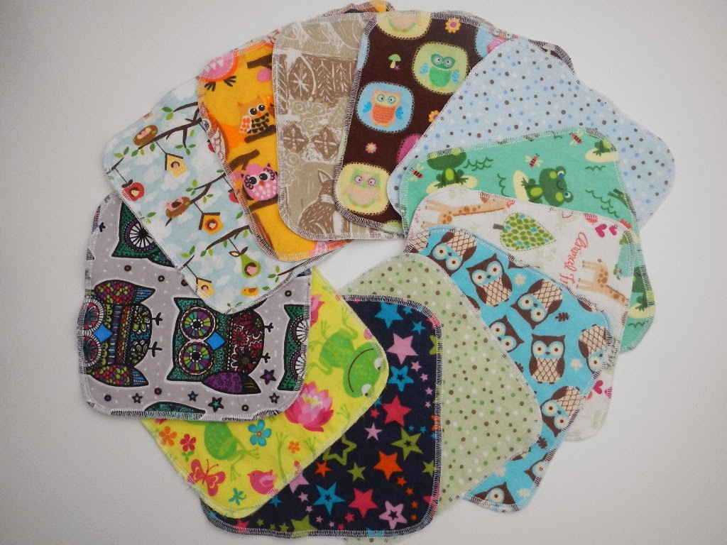 handmade reusable cloth napkins baby wipes unpaper paperless towels