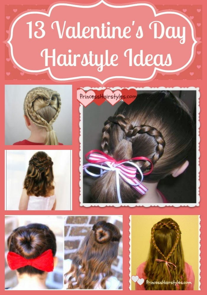13 valentines day hairstyle ideas