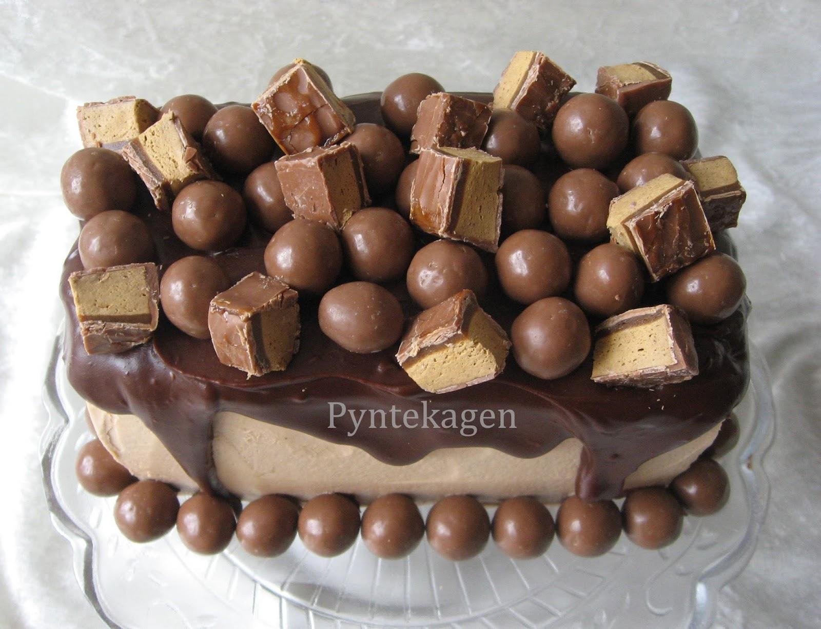 chokoladekage med toffifee