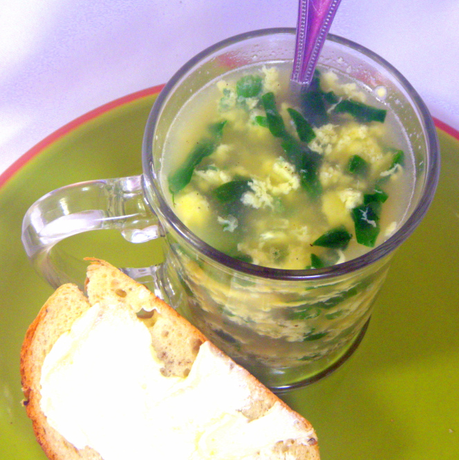 ... Ways to Cook: Italian Egg Drop Soup (Stracciatella Zuppa) For 2 People