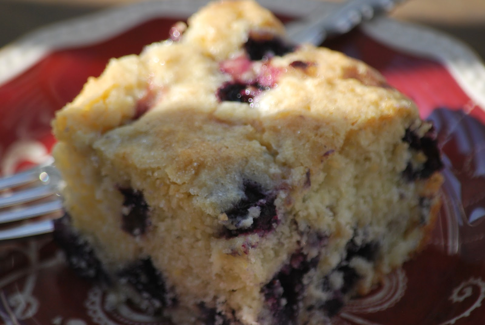 My story in recipes: Blueberry Buttermilk Coffee Cake