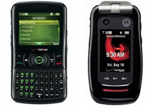 Pantech Razzle and Motorola Barrage launched by Verizon