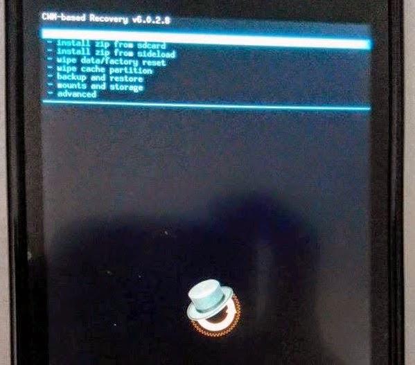 Install CWM di Advan Vandroid S4E Terbaru | Paling Gampang!