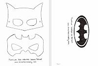 Бэтмен костюм шаблон
