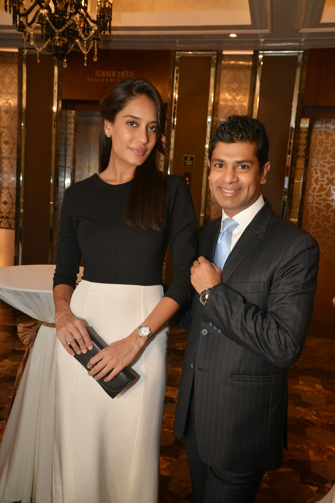 Pathos Watches Launch With Lisa Haydon and Mr. Jerome Riff
