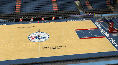 Default 2K Sports Sixers Court