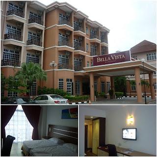 bella vista hotel, hotel di langkawi, langkawi