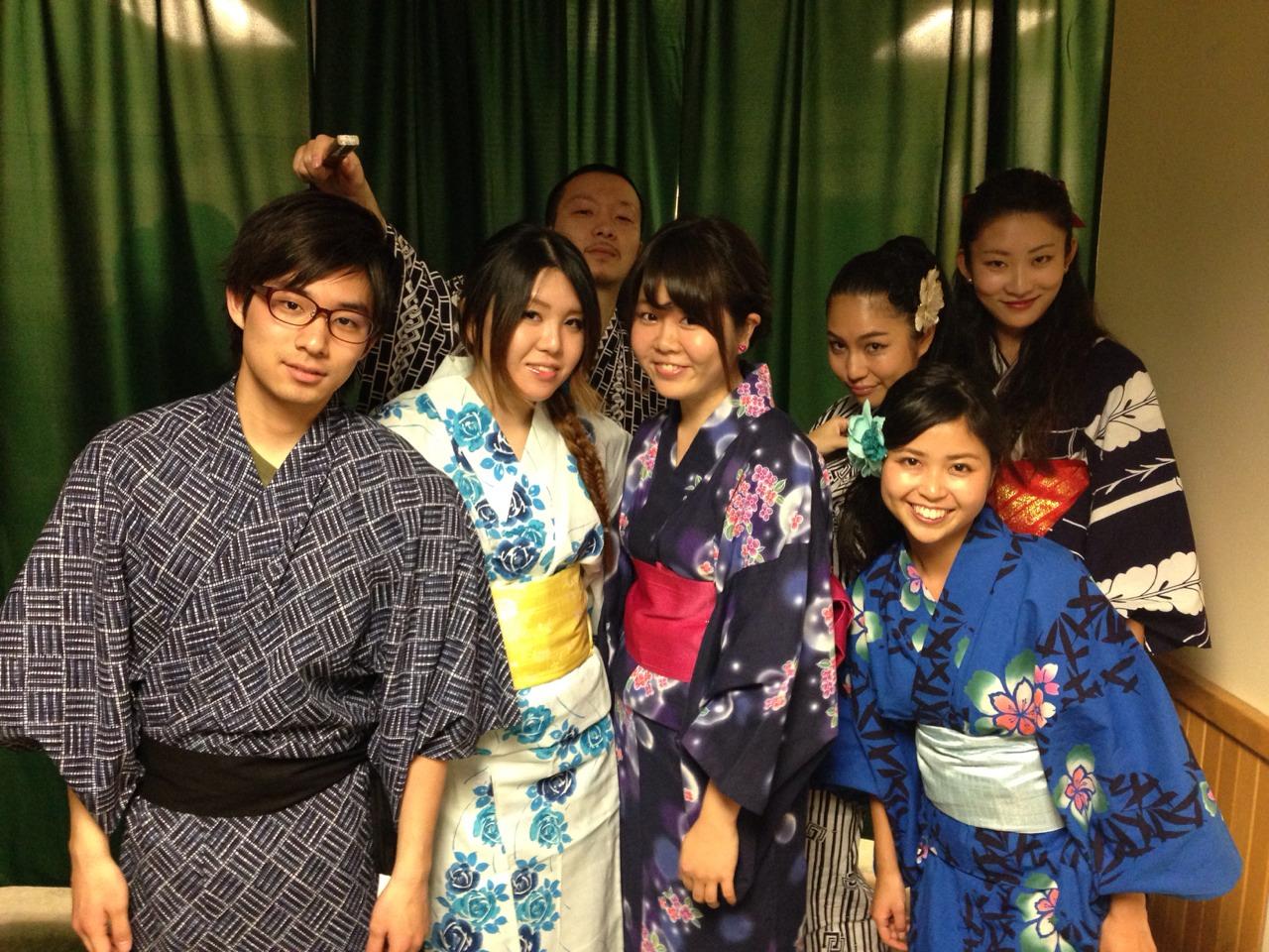 Yukata Japanese Kimono for Summer Festival